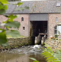 Sinds 1995 draait de watermolen weer op volle toeren en worden er rondleidingen gegeven in en rond de werkende watermolen.