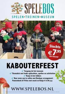 Vier je feestje in Spelebos, met een bezoek aan het speelgoedmuseum en een kist vol leuke spelletjes en activiteiten.